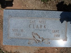 Gay Nell <i>Irvin</i> Clark