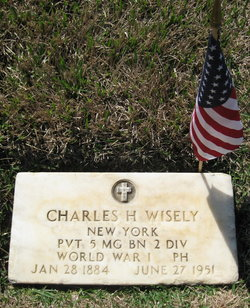 Pvt Charles Henry Wisely