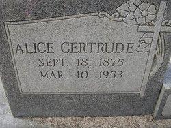 Alice Gertrude <i>Brockett</i> Canterbury