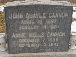 Elizabeth Ann Annie <i>Wells</i> Cannon