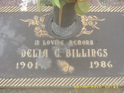 Delia Gladys <i>Meyer</i> Billings