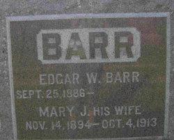 Mary Jane <i>Waddle</i> Barr
