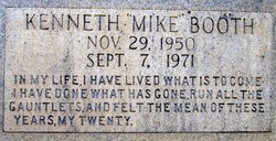 Kenneth Mike Booth