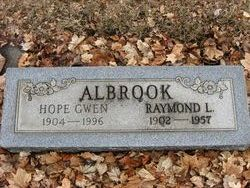 Hope Gwen <i>Boomer</i> Albrook