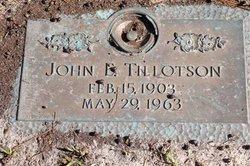 John Edward Tillotson