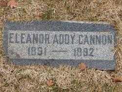 Eleanor Addy Cannon