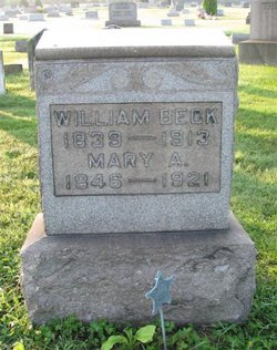 Mary A. <i>Albright</i> Beck