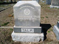 Alfred Warren Talk