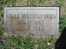 Callie <i>Mayfield</i> Yates