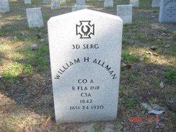 Sgt William Henry Allman