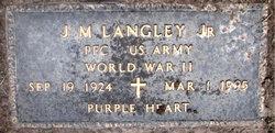 J.M. JIGGS Langley, Jr
