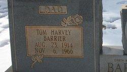Tom Harvey Barrier