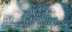 Pvt Thomas J. Morris
