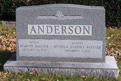 Mildred Barbara <i>Bottner</i> Anderson