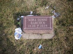 Nora <i>Dunne</i> Babcock