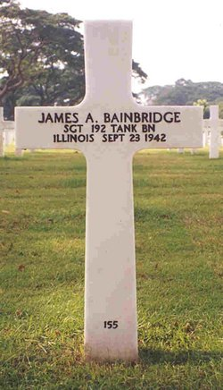 Sgt James A Bainbridge