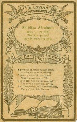 Karoline Henrietta <i>Feix</i> Abrahams