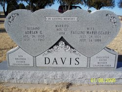 Pauline Marie <i>Starr</i> Davis