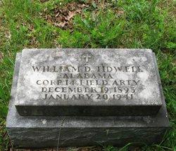 William D Tidwell