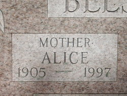 Alice <i>Peterson</i> Belstra