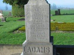 Benonia Hudson Bennie Adams