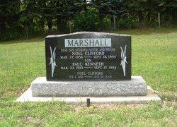 Noel Clifford Cliff Marshall, Sr