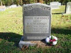 Frances Susan Fannie <i>Page</i> McKinney