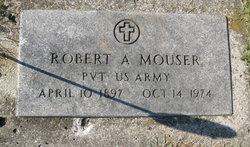 Pvt Robert A Mouser