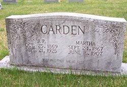 Martha <i>Bouldin</i> Carden