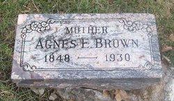 Agnes E. Brown