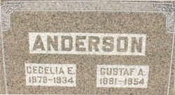 Cecelia E. <i>Lindgren</i> Anderson