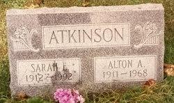 Sarah Elizabeth <i>Henthorn</i> Atkinson