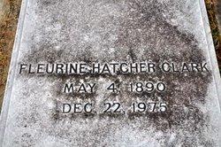 Fleurine <i>Hatcher</i> Clark