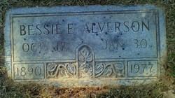Bessie E. <i>Moore</i> Alverson