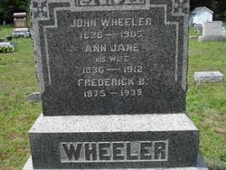 Ann Jane <i>Haskins</i> Wheeler