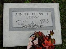 Annette Dianne Jessica <i>Jackson</i> Cornwell