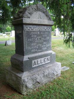 hattie e <i>Miller</i> Allen