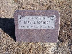 Mary S Adamson