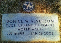 Rev Donice Watson Alverson