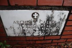 Archie Walton Carter