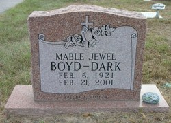 Mable Jewel <i>Boyd</i> Dark