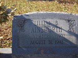 Lillian Ethel <i>Barnes</i> Ainsworth