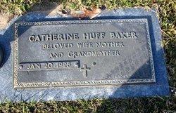 Catherine <i>Huff</i> Baker