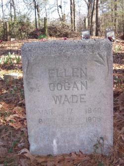 Ellen R <i>Cogan</i> Wade