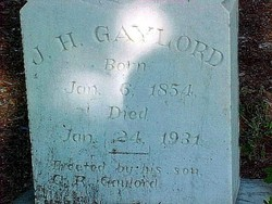 James Harrison Gaylord, Sr