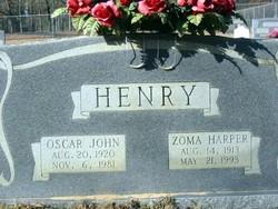 Zoma <i>Harper</i> Henry