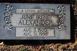 June Irene Alexander