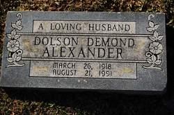 Dolson Demond Alexander