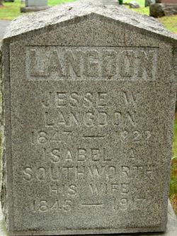 Isabelle A <i>Southworth</i> Langdon