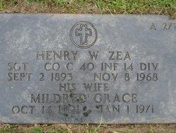 Mildred Grace Milly <i>Bair</i> Zea